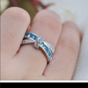 Sterling Silver Plated Ring